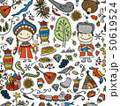 Travel to Russia. Seamless pattern for your design 50619524