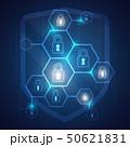 セキュリティ セキュリティー 安全のイラスト 50621831