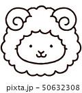 動物 羊 干支のイラスト 50632308