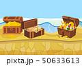 島 宝 宝物のイラスト 50633613