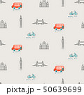 London city theme kid seamless vector pattern. 50639699