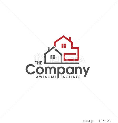 Real estate vector logo, Home, house linear logo 50640311