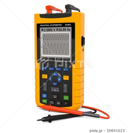 Digital oscilloscope, industrial scopometer 50641023