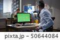 病院 分析する 男の写真 50644084