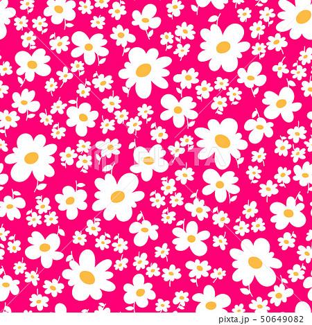 抽象的な花柄, 50649082