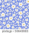 花 植物 花柄のイラスト 50649083
