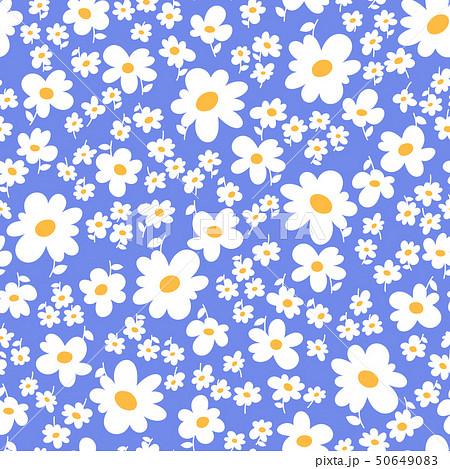 抽象的な花柄, 50649083