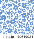 花 植物 花柄のイラスト 50649084