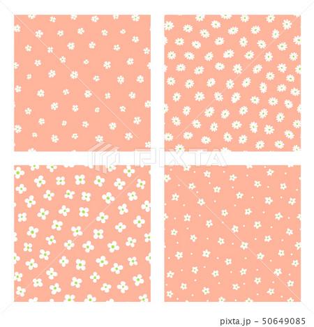 抽象的な花柄, 50649085