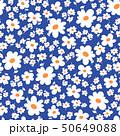 花 植物 花柄のイラスト 50649088