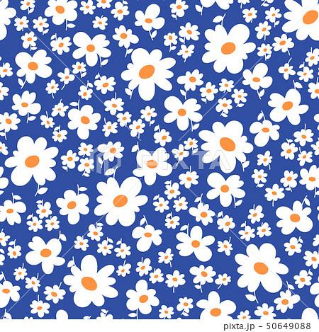 抽象的な花柄, 50649088
