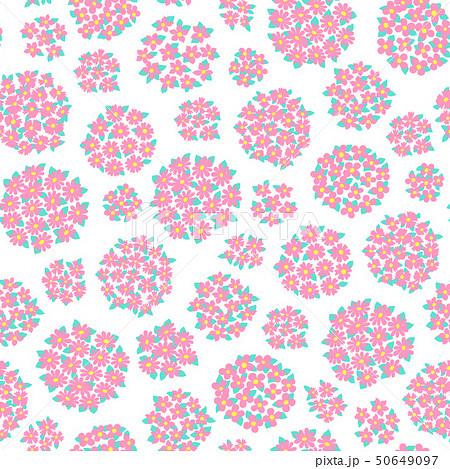 抽象的な花柄, 50649097