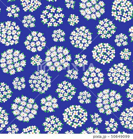 抽象的な花柄, 50649099