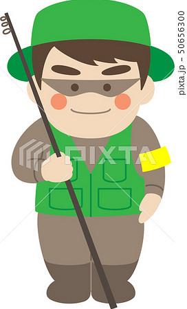 男性キャラクター釣り人 50656300