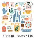 キッチン 台所 セラミックのイラスト 50657440