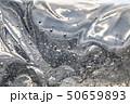 Clear hair gel with air bubbles, detail 50659893