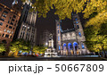 Popular attraction -- Montreal Notre Dame Cathedral by night 50667809
