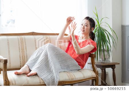 コスメ ビューティー 女性 50669255
