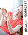ビューティー 女性 美容の写真 50669257