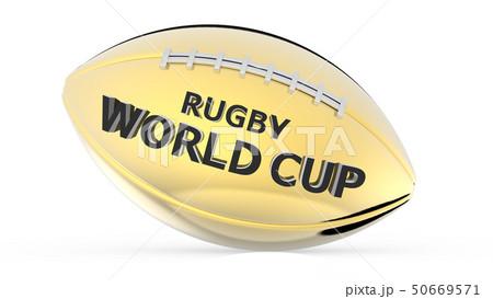 ラグビーワールドカップ 3DCG レンダリング 50669571