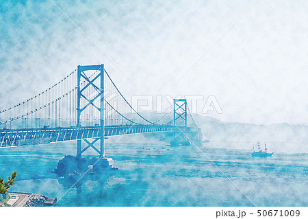 【徳島県】大鳴門橋 50671009