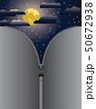 ジッパー ファスナー チャックのイラスト 50672938