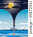 ジッパー ファスナー チャックのイラスト 50672941