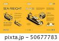 Maritime cargo transport service website 50677783