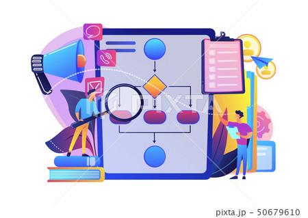 Business rule concept vector illustration. 50679610