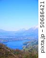 長野県、斑尾高原から見た野尻湖 50686421