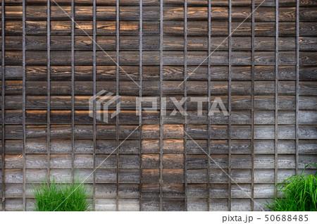 日本家屋の壁のイメージ 50688485