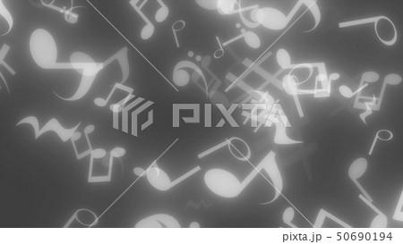 キラキラパーティクルエフェクト 音符 50690194