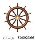 vector boat handwheel, ship wheel helm 50692366