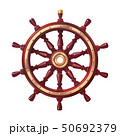 vector boat handwheel, ship wheel helm 50692379