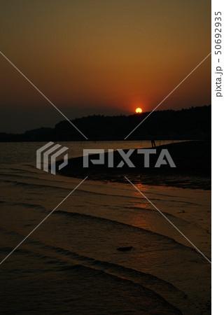 涸沼の夕景 50692935