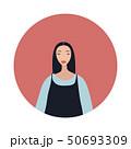 ベクトル 女性 女のイラスト 50693309