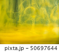 Abstract acrylic flows under water, close up view 50697644