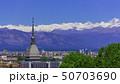 Turin, Torino, aerial timelapse skyline panorama 50703690