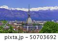 Turin, Torino, aerial timelapse skyline panorama 50703692