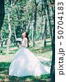 女性 ドレス 花嫁の写真 50704183