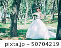 ウェディング 女性 ドレスの写真 50704219