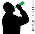 お酒 アルコール 酒のイラスト 50711202