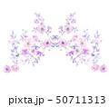 花 フラワー お花のイラスト 50711313