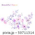 花 フラワー お花のイラスト 50711314