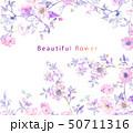 花 フラワー お花のイラスト 50711316