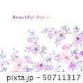 花 フラワー お花のイラスト 50711317