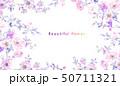 花 フラワー お花のイラスト 50711321