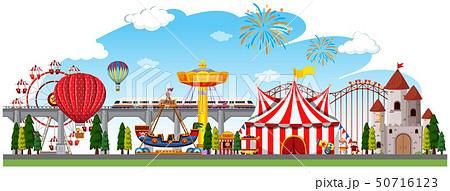 A circus panorama scene 50716123