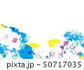 アジサイの美しいイラスト 50717035