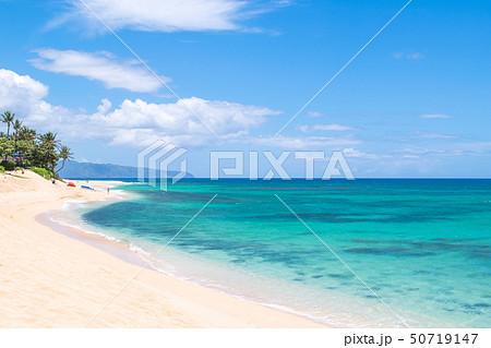ハワイ オアフ島 ノースショア サンセット・ビーチ 50719147